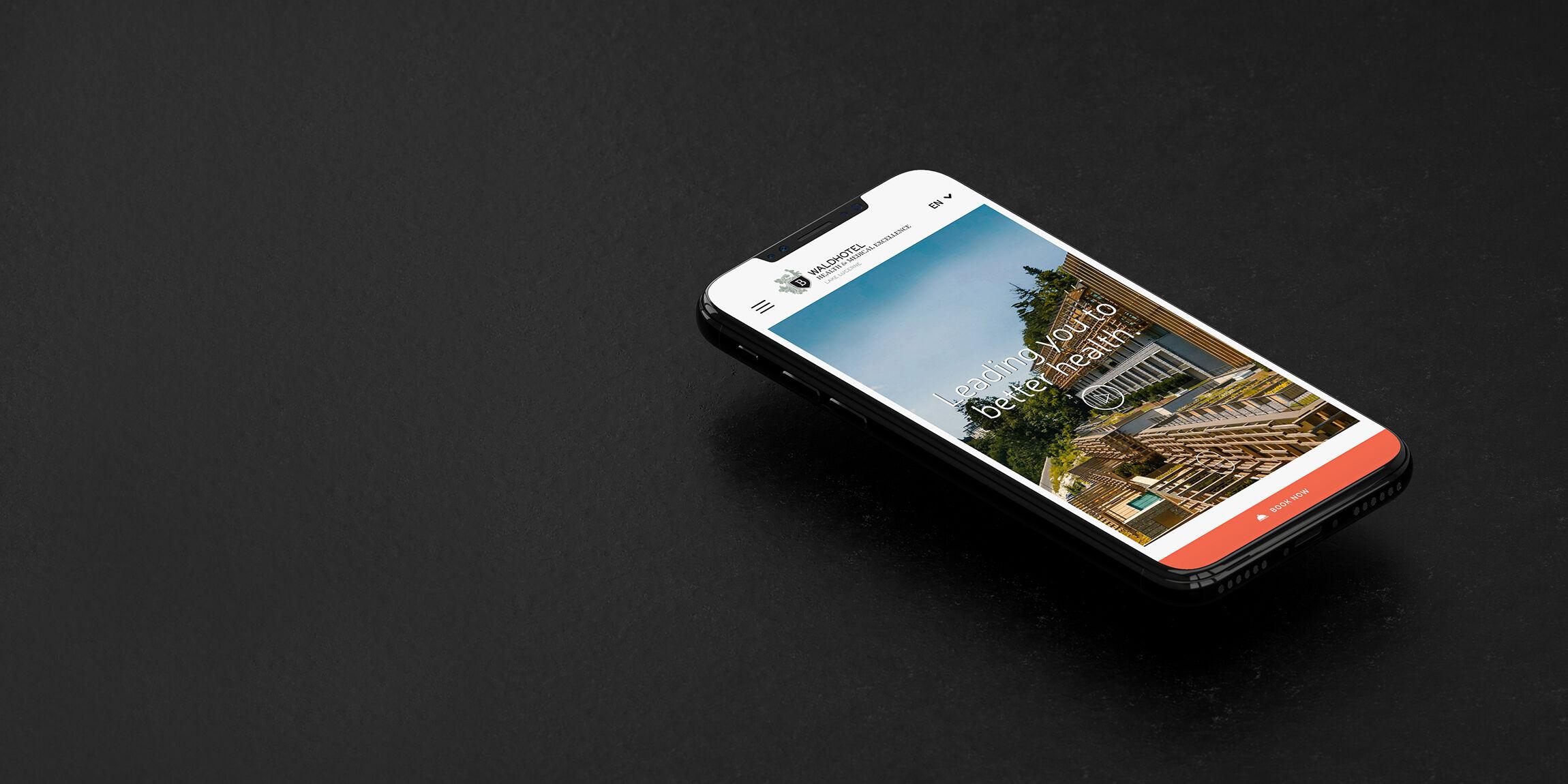Bürgenstock Waldhotel: Design, User Experience & Usability