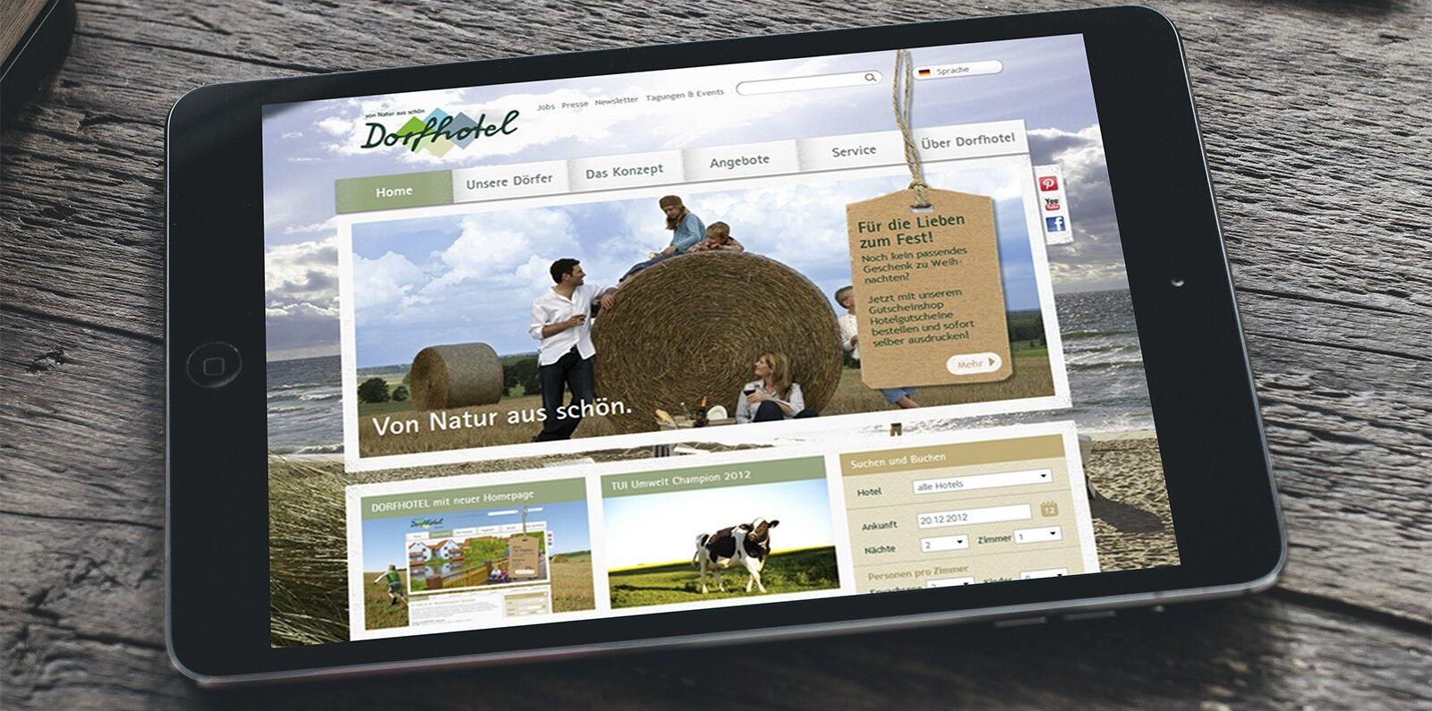 Abbildung sitegeist Referenz Dorfhotel